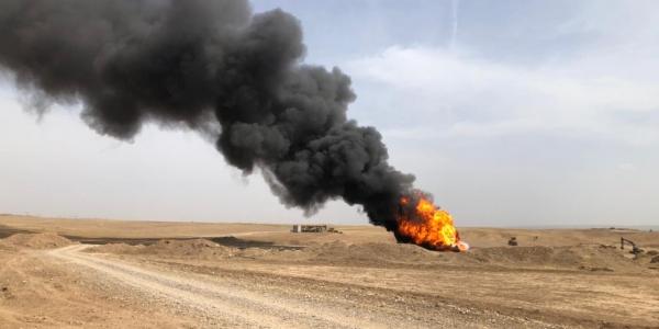 Insurgents bomb Bai Hassan oil field, exploiting security gaps