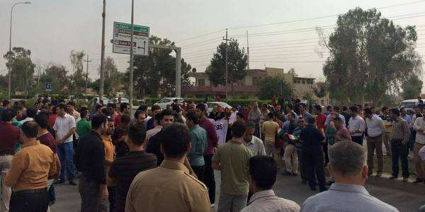 Teachers stay out on strike across Sulaimaniya