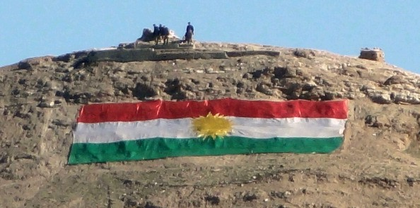 Besieged town in disputed territories turns to Kurds for security