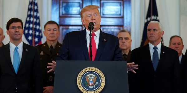 U.S. sanctions threats cast shadow on Iraqi economy