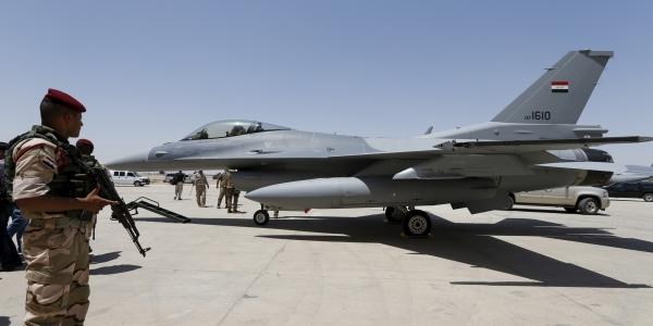 U.S.-led coalition drops Iraqi F-16s from anti-IS missions
